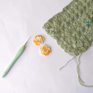 編み編み、再開!