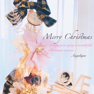 クリスマスツリーに、おリボンver.が登場!✴︎マダム3名様✴︎おススメスイーツ♡