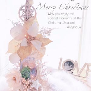 クリスマスツリーに一目惚れのTさん✨素敵なツリーが2作品誕生✨