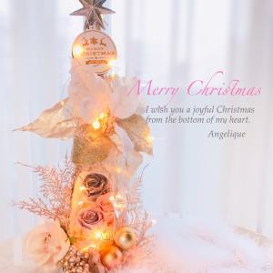 クリスマスツリーレッスン完売✴︎4名様✴︎プリザーブドフラワー