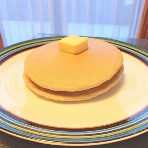 ある日のおやつ。。。念願のパンケーキ