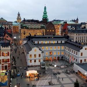 スウェーデンからの航空便で発送させていただきました。