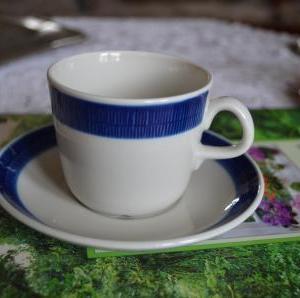 27.Rörstrand Koka ブルー コーヒーC&S