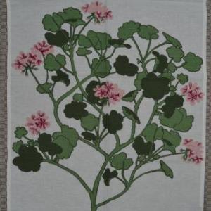 16.Almedahls/Hemtex 初夏のお花のティータオル/キッチンタオル