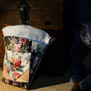中袋が付きました&秋明菊とタマスダレ