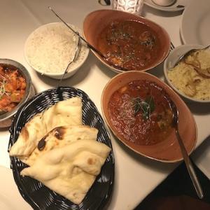 インド料理店「Indian Room」