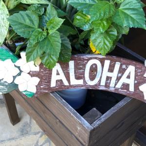 ハワイアンCafeと天満宮