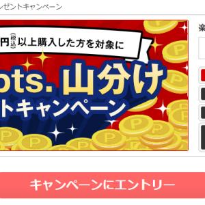 ECナビ☆「楽天市場 税込5,000円以上購入者で100万ポイント山分けキャンペーン」開催中~ヾ(≧▽≦)ノ