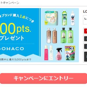 ECナビ☆9/30(水)まで!!「LOHACO(P&G)ポイントプレゼントキャンペーン」実施中ですッヾ(≧▽≦)ノ