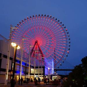 大阪港の夕陽(3)@2020-09-21