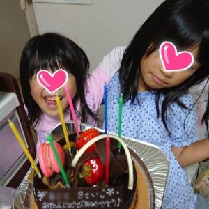 長女8歳birthday!