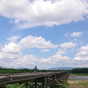 流れ橋散歩