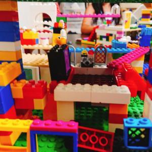 休日はレゴに没頭