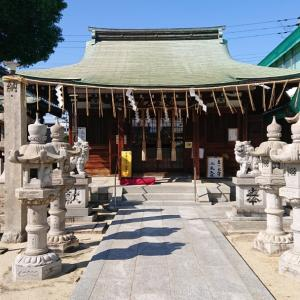 関目神社で御朱印