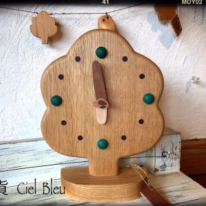 プレゼントにもご自宅にも欲しいくぬぎまきさんの木の時計!♪
