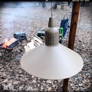明りの欲しい所に吊すだけ~キャンプにも普段にも使えるLEDライト!♪