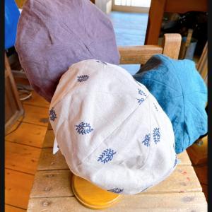 夏のベレー帽が入荷しました!あと3日です
