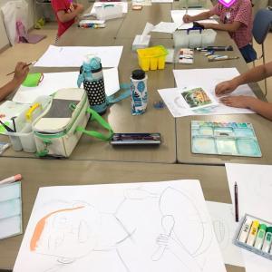 夏休み限定!子供絵画教室☆