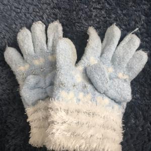 サイズアウトした手袋