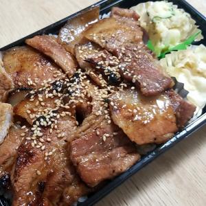 ☆【テイクアウト】骨付豚 弌歩西原店 炭焼き豚重(大)☆