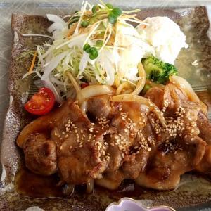 リージャスクレストゴルフクラブ 豚生姜焼き定食