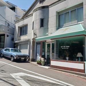お洒落カフェのサンドイッチ~バイミースタンド~@横浜 石川町
