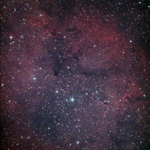 ケフェウス座IC1396 まだ灯火で明るい頃に