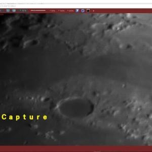 月齢10(北部) 動画処理で「月の地形100選」巡り