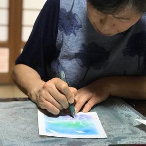 ゆず丸工房 パステルアート教室 毎月1回の自宅教室