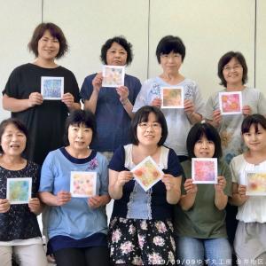 9月の金井コミュニティセンター ゆず丸工房パステルアートの会ありがとうございました
