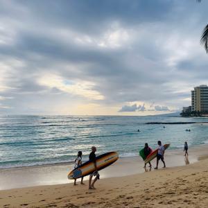 ハワイ生活 ゆっくりと時間が流れています。