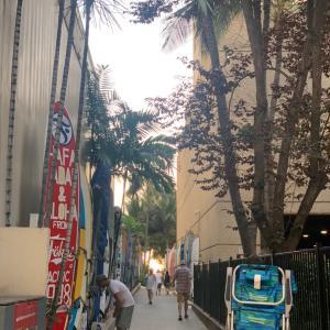 夕方のカラカウア通り お散歩編