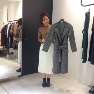 【大阪店】コートのカラバリ追加してます♪