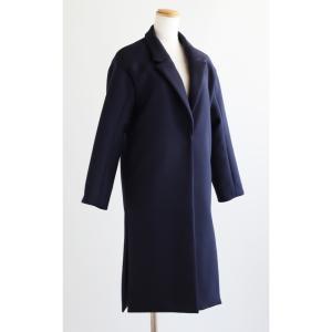 お客様オーダー品♪しっかり目なウール素材のコート