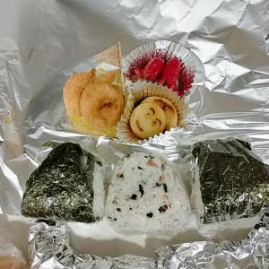 1月24日(日)のお弁当 アルミホイル