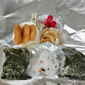 1月25日(月)のお弁当 アルミホイル
