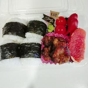 6月19日(土)のお弁当 豚のから揚げ