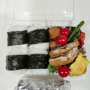 6月21日(月)のお弁当 あじフライ 今日は冷凍じゃない