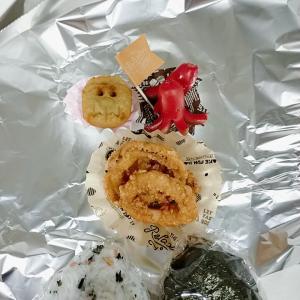 7月22日(木)のお弁当 イカの唐揚げ