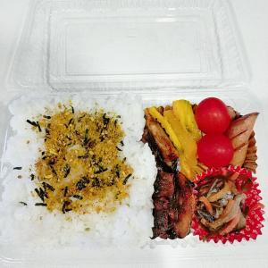 8月1日(日)のお弁当 さんまの生姜焼き