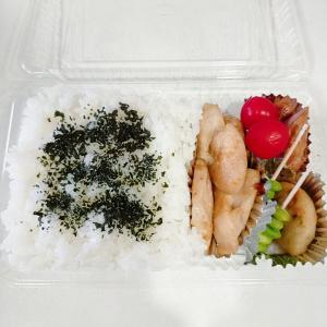 9月7日(火)のお弁当 鶏ムネ肉の柔らか焼き
