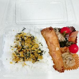 9月11日(土)のお弁当 カレイの唐揚げ