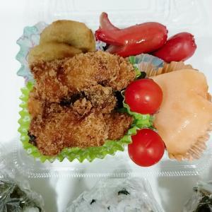9月14日(火)のお弁当 チキンカツ