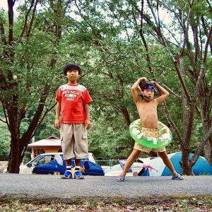*我が家の始まりの地 〜2006年8月17日大鬼谷キャンプ場〜