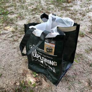 *セリアのLINKABLE COATING BAGをゴミ袋として使う!