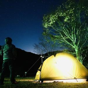 *10年前の岩倉を見つけたキャンプ!
