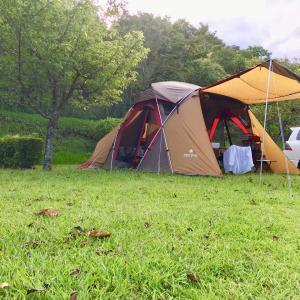 *日向キャンプ!設営完了!