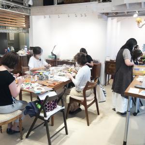 「革と麻」Atelier LeafLeaf®様ワークショップ風景撮影