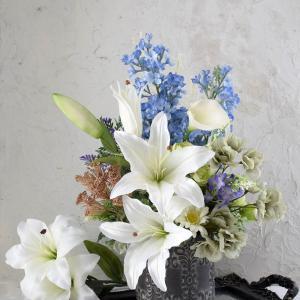アーティフィシャルフラワーでお父様へのご供養花