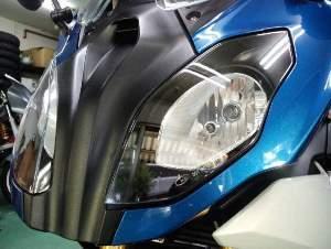 左右の調整機構がないヘッドライトはいつもドキドキです。